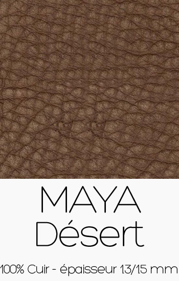 Cuir Maya Désert