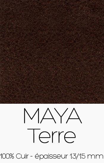 Cuir Maya Terre