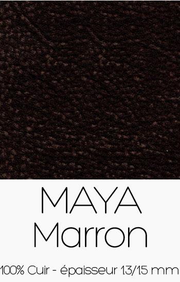 Cuir Maya Marron