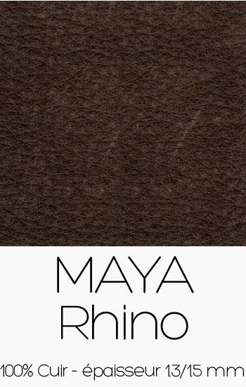 Cuir Maya Rhino