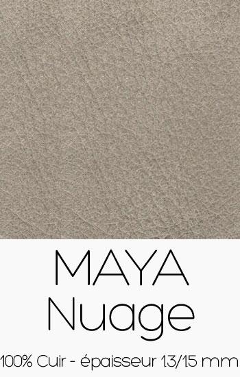 Cuir Maya Nuage