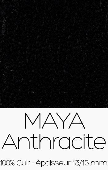 Cuir Maya Anthracite