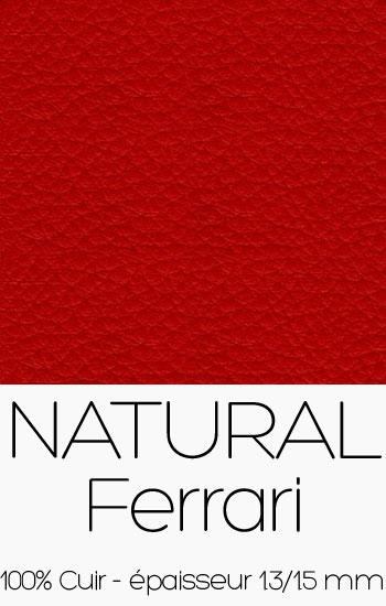 Cuir Naturel Ferrari
