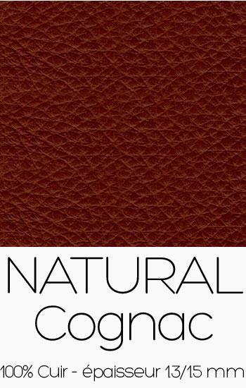 Cuir Naturel Cognac
