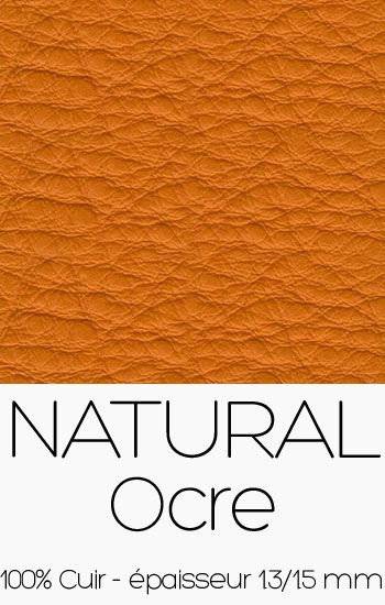 Cuir Naturel Ocre