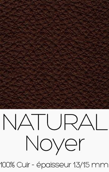Cuir Naturel Noyer