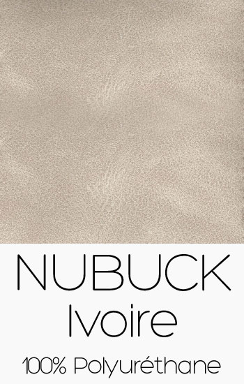 Tissu Nubuck Ivoire