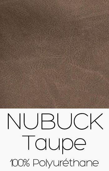 Tissu Nubuck Taupe