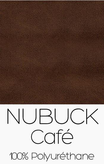 Tissu Nubuck Café
