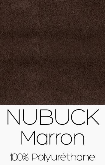Tissu Nubuck Marron