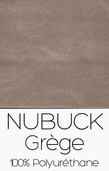 Tissu Nubuck Grège