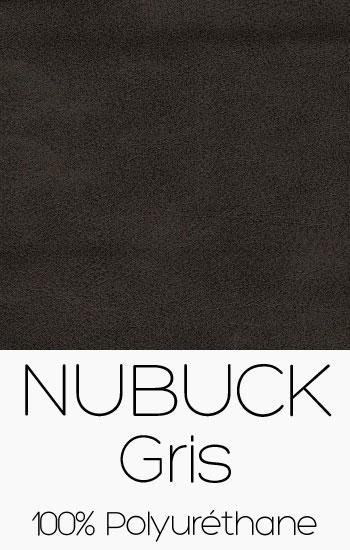 Tissu Nubuck Gris