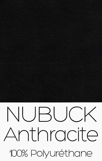 Tissu Nubuck Anthracite