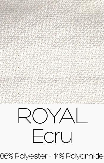 Tissu Royal Ecru