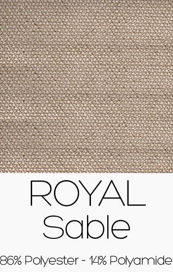 Tissu Royal Sable