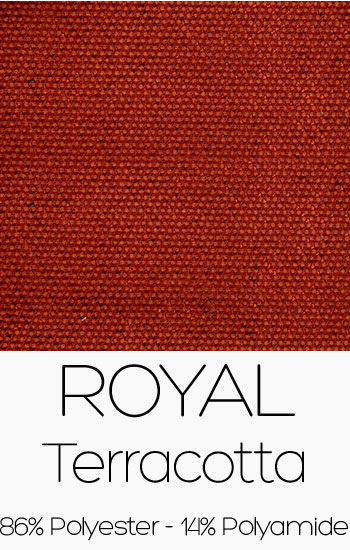 Tissu Royal Terracotta