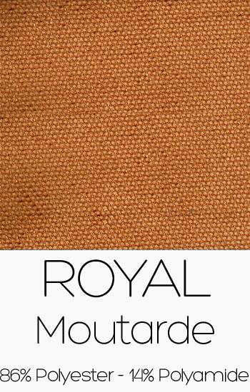 Tissu Royal Moutarde