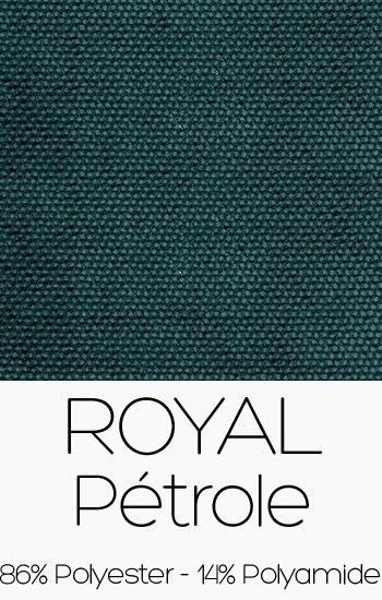 Tissu Royal Pétrole