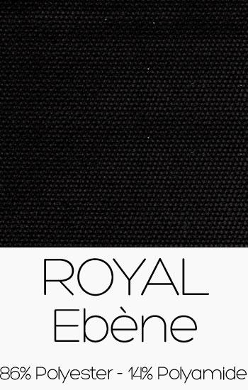 Tissu Royal Ebène