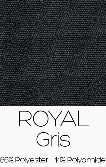 Tissu Royal Gris