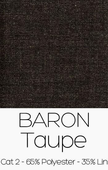 Tissu Baron taupe