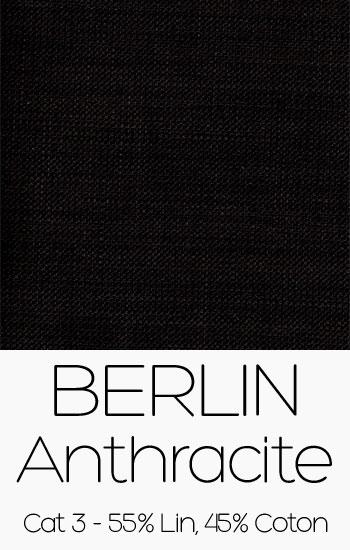 Tissu Berlin Anthracite