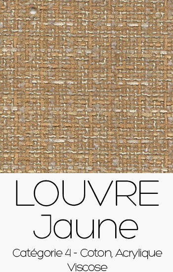 Tissu Louvre Jaune