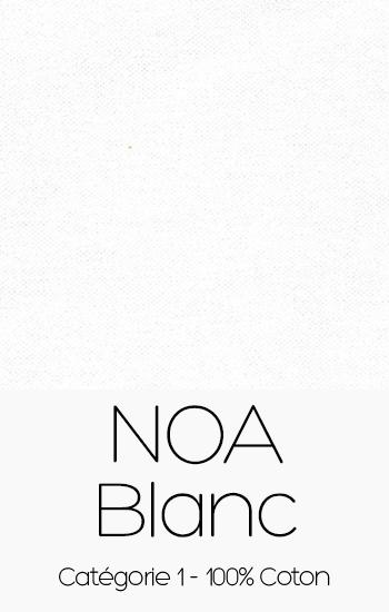 Tissu Noa Blanc
