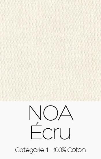 Tissu Noa Ecru