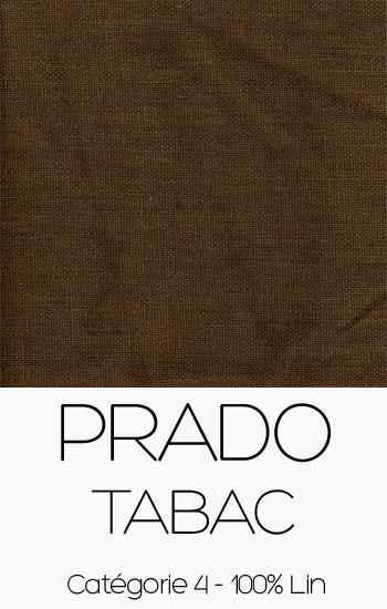 Tissu Prado Tabac