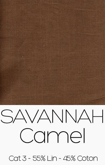 Tissu Savannah Camel