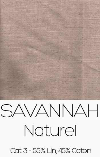 Tissu Savannah naturel