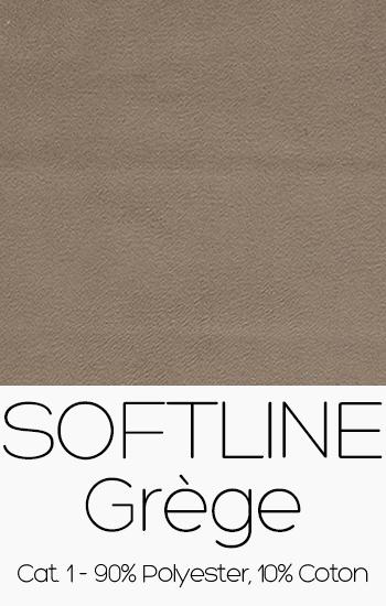 Tissu Softline Grège
