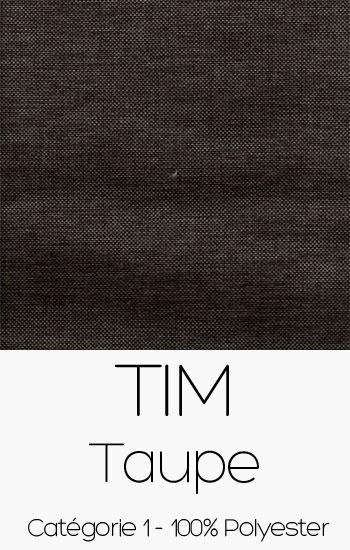 Tissu Tim Taupe