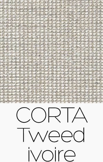 Corta Tweed Ivoire