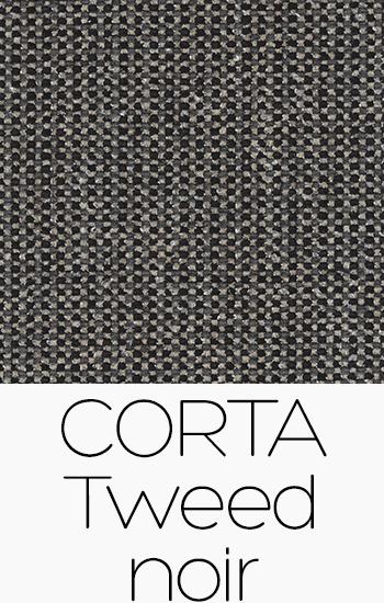 Corta Tweed Noir