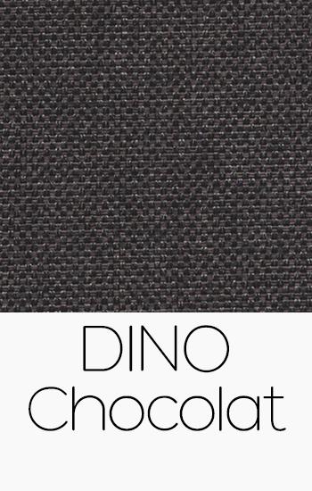 Tissu Dino Chocolat