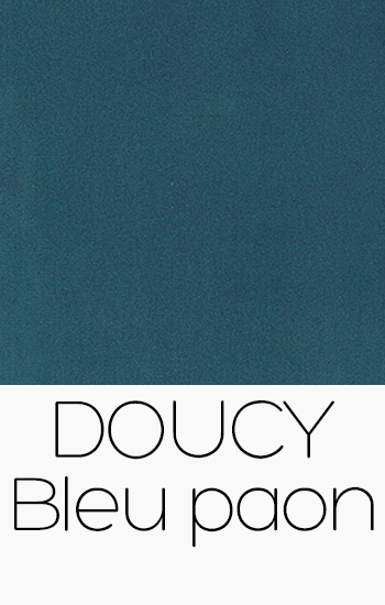 Doucy Bleu Paon