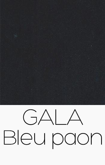 Gala Bleu Paon