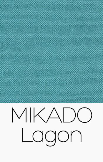 Tissu Mikado Lagon