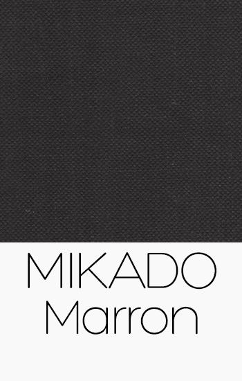 Tissu Mikado Marron