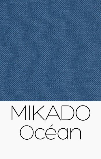 Tissu Mikado Océan