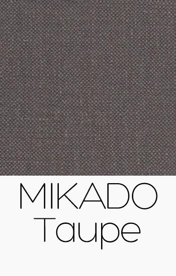 Tissu Mikado Taupe