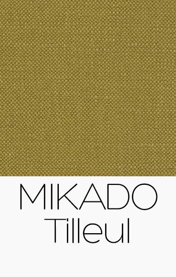Tissu Mikado Tilleul
