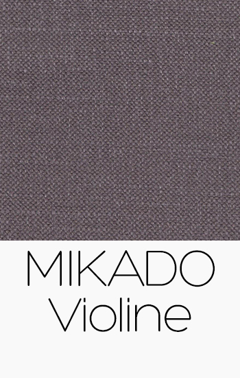 Tissu Mikado Violine