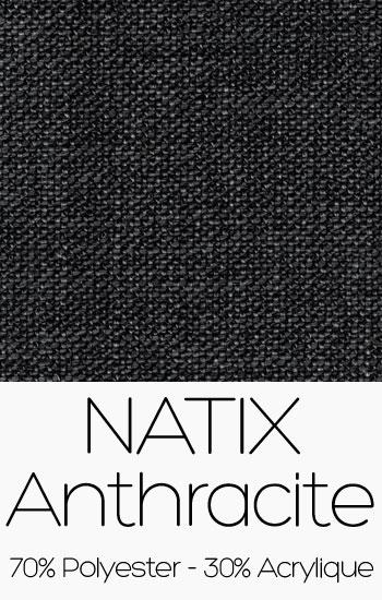Tissu Natix Anthracite