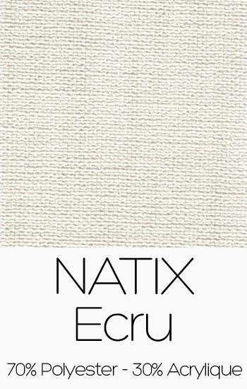 Tissu Natix Ecru