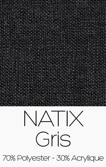 Tissu Natix Gris