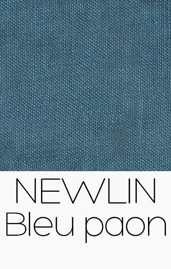 Newlin Bleu Paon