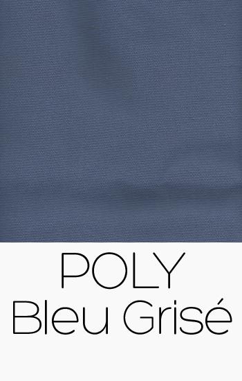 Poly Bleu Grisé